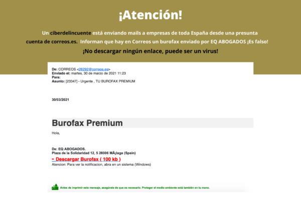 MAILS FRAUDULENTOS - EQ Abogados